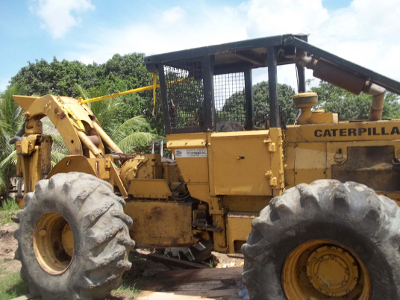 CAT 518 log skidder with winch 1980 model - Machinery Imports